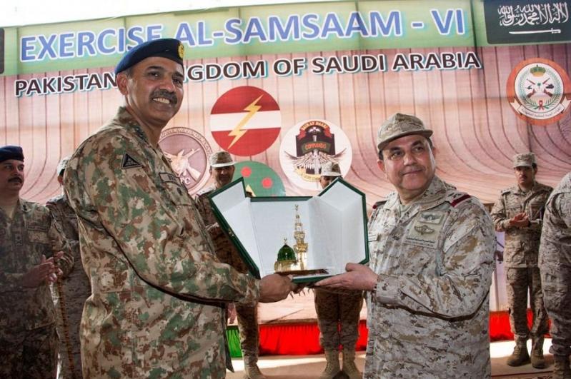 بالصور.. اختتام التمرين المشترك السعودي الباكستاني الصمصام6