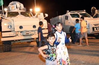 بالصور.. آليات القوات المسلحة تشعل حماس الأطفال في فعالية فخر واعتزاز 2 - المواطن