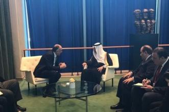 بالصور.. الجبير يعقد لقاءات ثنائية على هامش الجمعية العامة للأمم المتحدة - المواطن