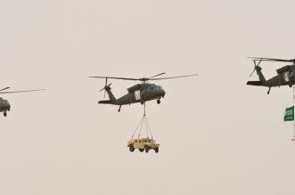 التلفزيون السعودي يتميز بنقل #رعد_الشمال والاستعراض العسكري - المواطن