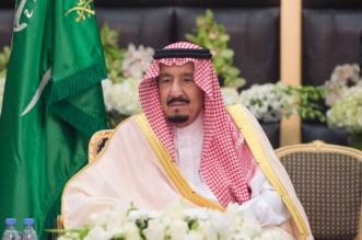 الملك سلمان في حفل الاستقبال بالأحساء