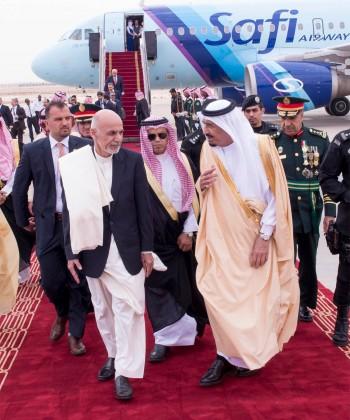 رئيس- افغانستان- بالرياض