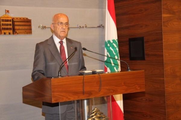 نائب رئيس مجلس الوزراء وزير الدفاع اللبناني سمير مقبل