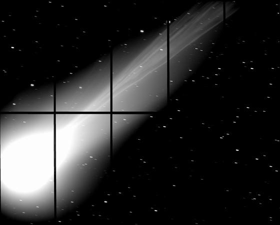 صورة المذنب Lovejoy كما تم تصويره يوم 03 ديسمبر بواسطة تلسكوب سوبارو الياباني