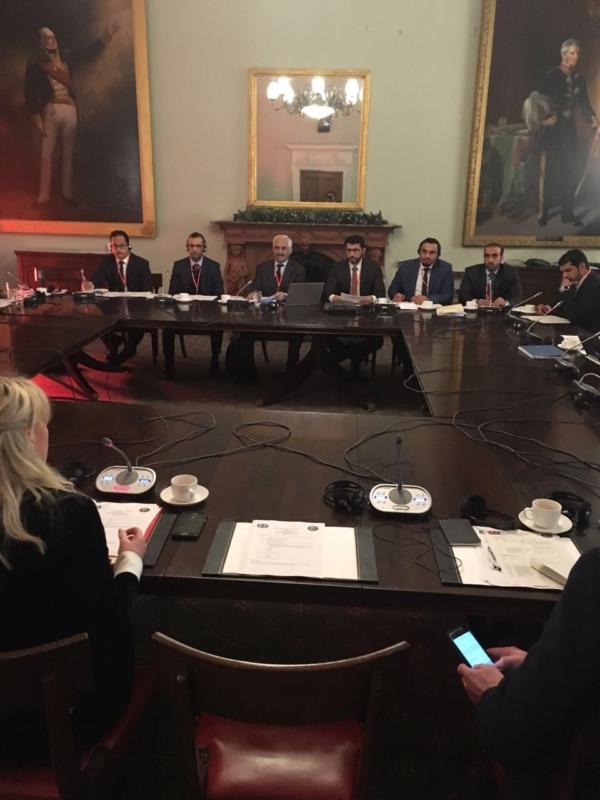 اجتماع مجلس التعاون والمملكة المتحدة يناقش مواجهة التدخلات الإيرانية ومكافحة الإرهاب