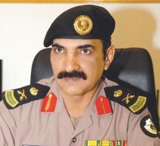 اللواء غرم الله بن محمد الزهراني
