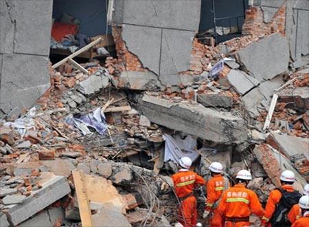 ضحايا زلزال مقاطعة سيتشوان الصينية