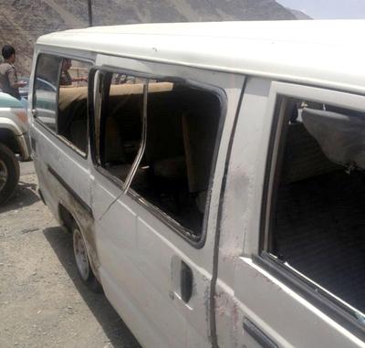 بالصور.. إصابة 10 في حادث مروري بطريق محايل - أبها - المواطن