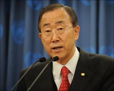 الأمين العام للأمم المتحدة،