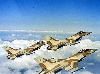 الطائرات الحربية الإسرائيلية