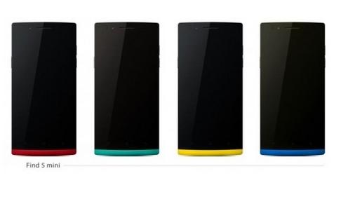 """""""أوبو"""" تنافس """"سامسونج"""" وتطلق نسخة مصغرة من هاتفها الشهير Find 5"""