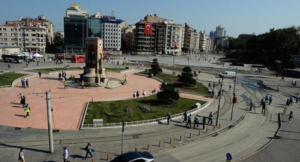 ساحة تقسيم باسطنبول