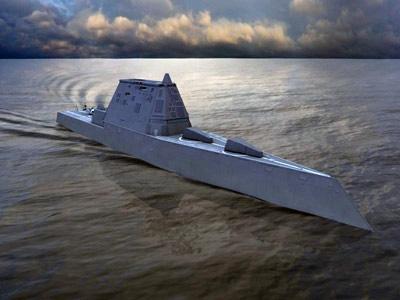 """البحرية الأمريكية تطلق المدمرة """"زوموالت"""" الأطول والأسرع بأسطولها"""