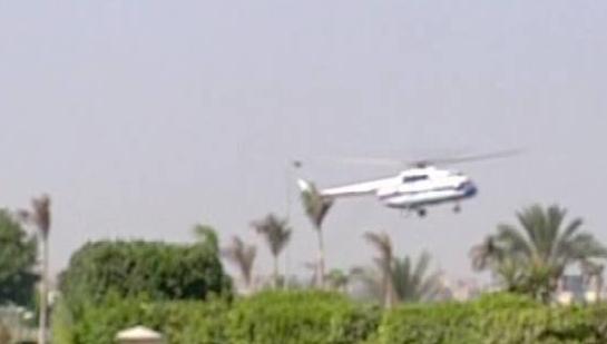 وصول طائرة مرسي إلى أكاديمية الشرطة بالتجمع الخامس - المواطن