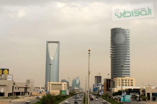 هطول أمطار مصحوبة بزوابع رعدية على عدة أحياء من مدينة الرياض