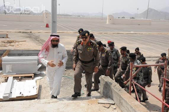 شاهد بالصور .. جولة مدير الأمن العام اللواء عثمان المحرج على مقار قوات الأمن العام بالمشاعر المقدسة