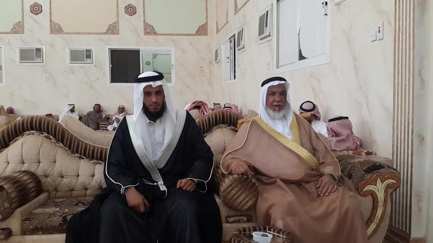 عبدالله الثبيتي عريساً - المواطن