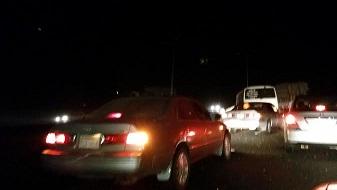 نجاة قائد كامري انقلبت على طريق الليث- المظيلف - المواطن
