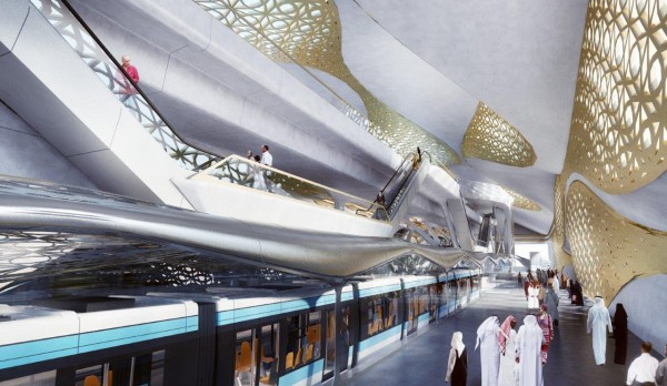 04 منظور داخلي لمحطة مركز الملك عبدالله المالي