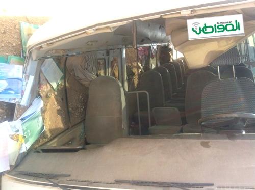 إصابة ستيني و10 طلاب في حادث حافلة شرق رفحاء - المواطن