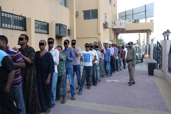 بالصور.. ضبط 8980 حالة مخالفة لنظامي الإقامة والعمل بالشرقية - المواطن