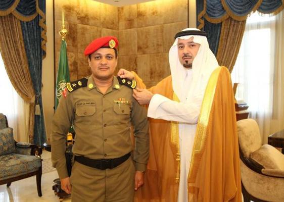 الأمير مشعل بن عبدالله بن عبد العزيز أمير منطقة مكة المكرمة - الرائد ماجد بن أحمد الحربي