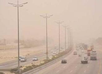 الأرصاد: استمرار تأثير العوالق الترابية على أجزاء من شمال وشمال شرق المملكة - المواطن