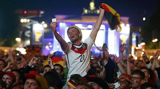 34 مليون شخص شاهدوا نهائي المونديال في ألمانيا وحدها - المواطن