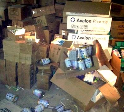ضبط مستودع أدوية يعج بالفئران في المدينة المنورة