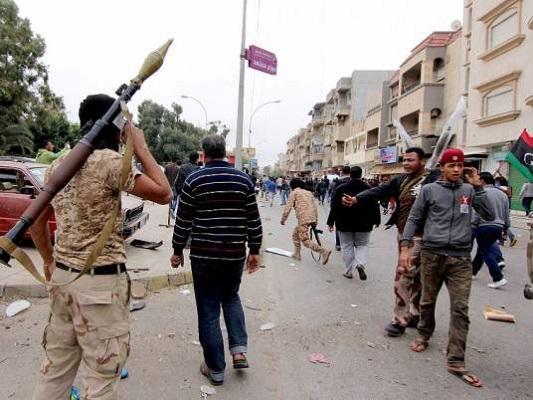 اشتباكات بنغازي