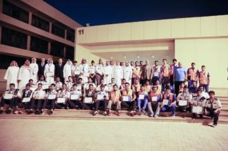 جامعة الامام عبد الرحمن بالدمام تكرم 54 متطوعا شاركوا في خدمة ضيوف الرحمن