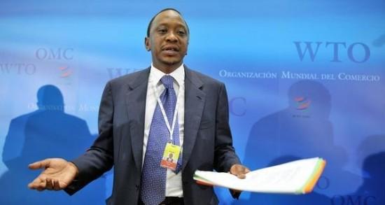 الرئيس الكيني، أوهورو كينياتا