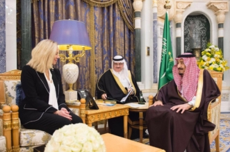 الملك يستعرض مجالات التعاون المشترك مع وزيرة خارجية هولندا - المواطن