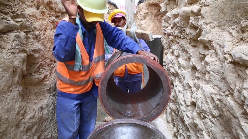 بدء ضخ المياه بالمشروع الشامل لمحافظة الشملي بأكثر من ٦٧ مليون ريال