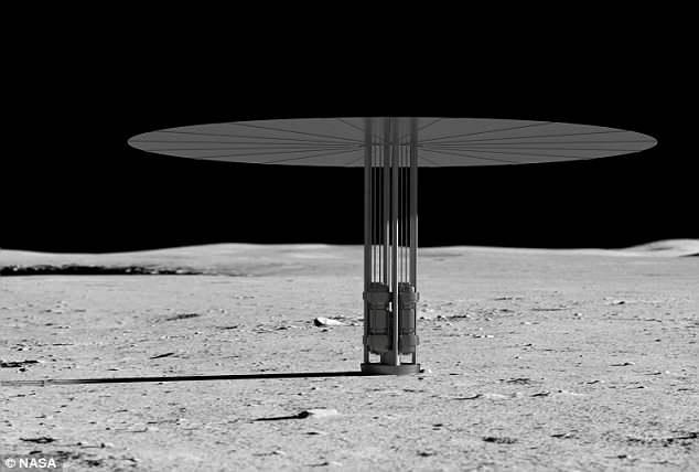 بالصور.. ناسا تكشف تفاصيل أول مفاعل نووي على سطح القمر