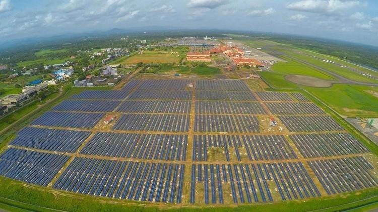 الهند.. أول مطار يعتمد على الطاقة الشمسية فقط