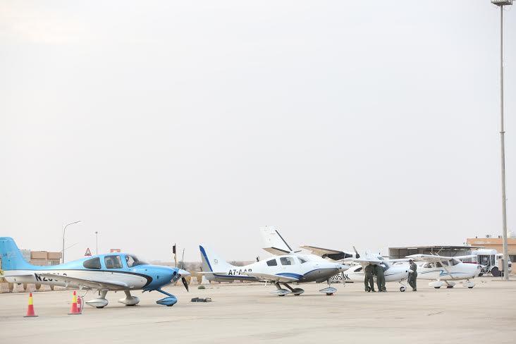 سماء الرياض تحتضن أكبر تظاهرة للطيران1