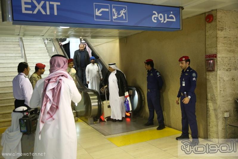 شاهد.. وصول البعثة الدبلوماسية السعودية قادمة من #إيران1