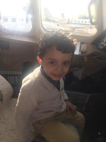 شاهد.. صور #الملك_سلمان وأمير #قطر تُزَيّن طائرات ملتقى #الثمامة1