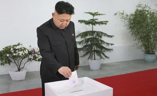 الزعيم الأعلى كيم جونغ أون