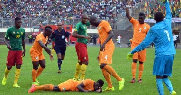 فضيحة كروية في مباراة كوت ديفوار والكاميرون بتصفيات أمم إفريقيا - المواطن