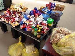 مصادرة مواد غذائية وحلويات فاسدة بـ #العويقيلة