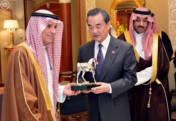 وزير الخارجية يجتمع مع وزير خارجية جمهورية #الصين الشعبية.