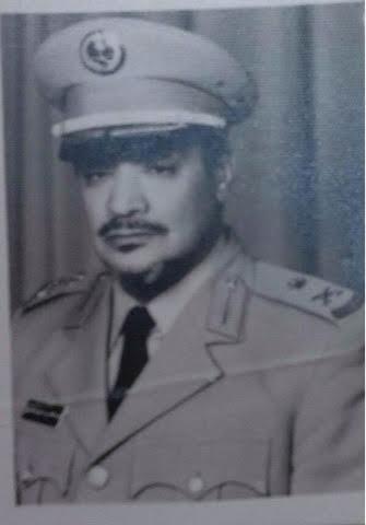 اللواء ركن عبدالمحسن بن عايض بن غازي الشدادي الحارثي