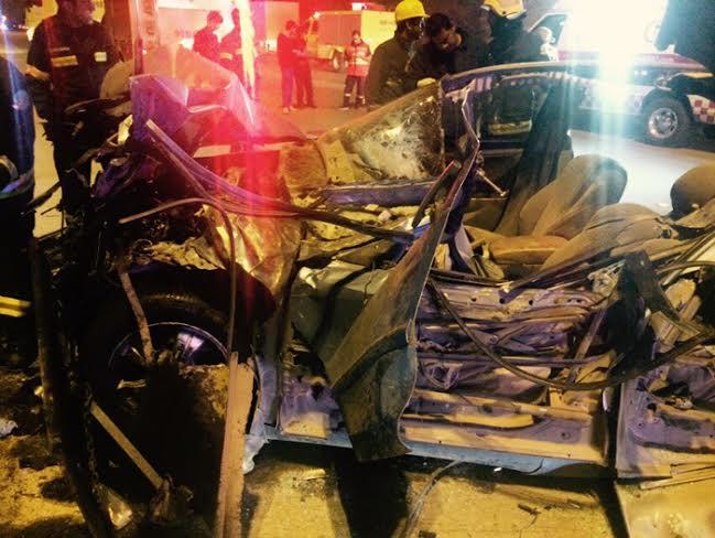 وفاة شخص ونجاة أم وطفلتها بحادث مروّع في #بريدة