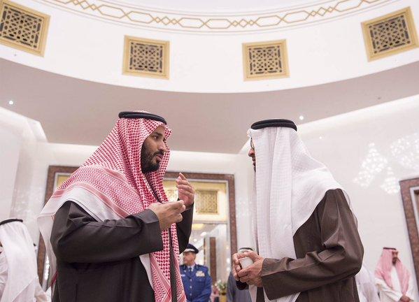 سمو سيدي ولي ولي العهد يصل #أبوظبي