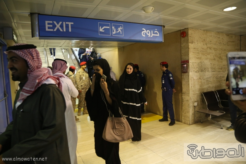 شاهد.. وصول البعثة الدبلوماسية السعودية قادمة من #إيران