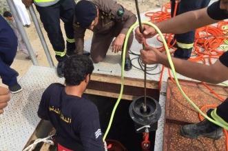 بالصور.. انتشال جثة مواطن من أحد آبار #الباحة - المواطن