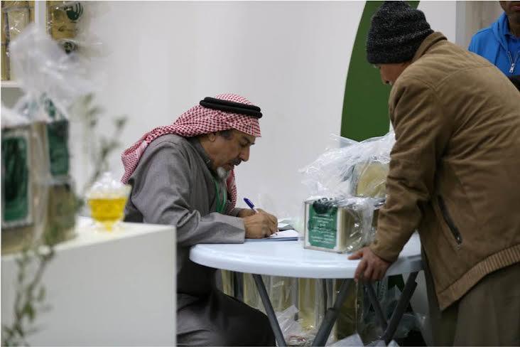 500 سعودي وسعودية باعة مهرجان الزيتون بالجوف