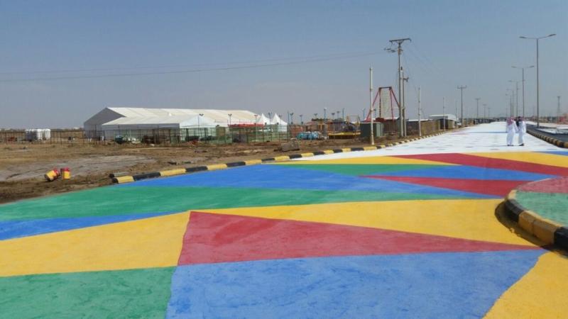10 لجان لإنهاء تجهيزات مهرجان شاطئ الإبداع بالحريضة 6